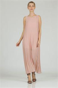שמלה אקורד ורוד -