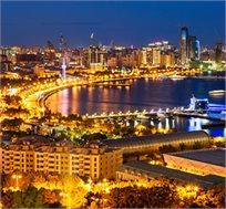 """טיול מאורגן לבאקו בירת אזרבייג'ן ל-5 ימים ע""""ב א.בוקר החל מכ-$699* לאדם!"""