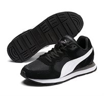 נעלי סניקרס Puma Vista Jr לילדים ונוער - שחור