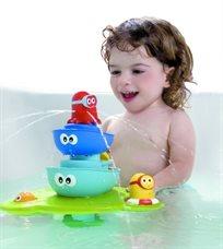 צעצוע אמבט מזרקה ללא הפסקה