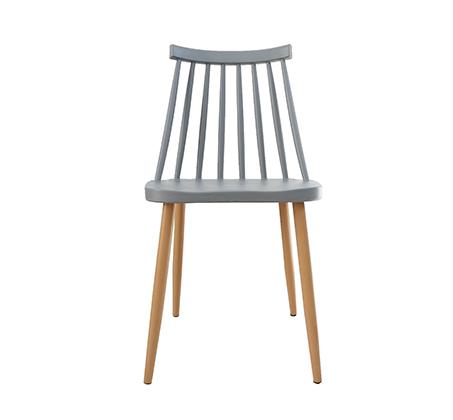 כסא לפינת אוכל בעיצוב מודרני עם מושב ורגלי ועץ בצבעים לבחירה  - תמונה 3