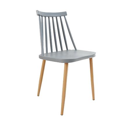 כסא לפינת אוכל בעיצוב מודרני עם מושב ורגלי ועץ בצבעים לבחירה  - תמונה 2