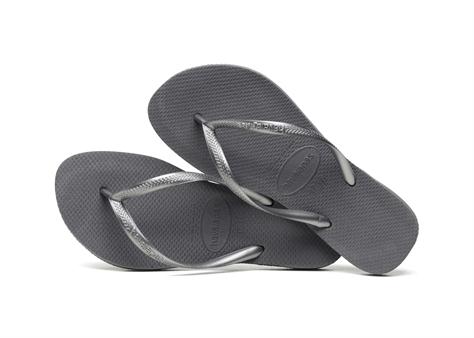 Havaianas נשים//  Slim Steel Grey