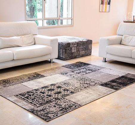 שטיח סלון דגם סטאר פאטצ' במגוון צבעים ומידות לבחירה