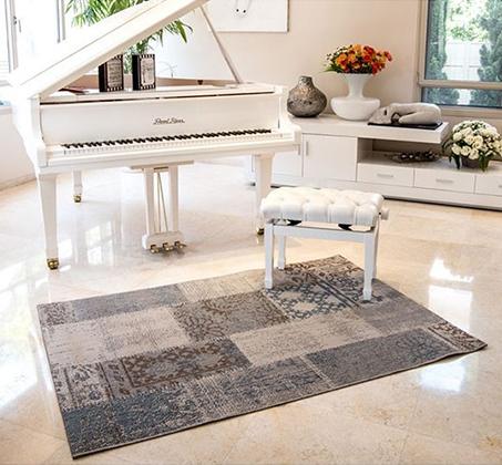 שטיח לסלון סופר סטאר פאטצ' במבחר צבעים ומידות לבחירה - משלוח חינם - תמונה 5