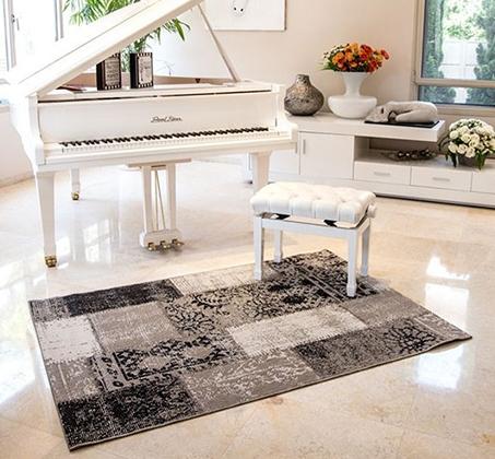 שטיח לסלון סופר סטאר פאטצ' במבחר צבעים ומידות לבחירה - משלוח חינם - תמונה 7