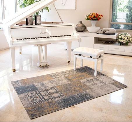 שטיח לסלון סופר סטאר פאטצ' במבחר צבעים ומידות לבחירה - משלוח חינם - תמונה 6