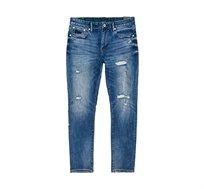ג'ינס סקיני קלאסי Tyler Slim Jeans לגברים - כחול