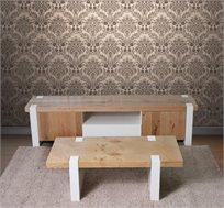 סט סלוני מזנון ושולחן VITORIO DIVANI דגם ספיריט