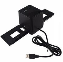 סורק שקופיות ונגטיבים בחיבור USB ממיר את הפילם הישנים לתמונה דיגיטלית באיכות גבוהה כולל תוכנת עריכה