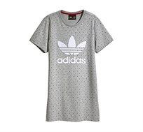 חולצת טוניקה PHARRELL WILLIAMS בצבע אפור