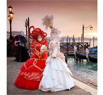 קרנבל המסכות הגדול בונציה! טיול מאורגן לצפון איטליה והקרנבל ל-8 ימים עם טיסות החל מכ-€499* לאדם!