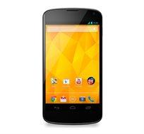 "סמארטפון LG Nexus 4 בנפח 16GB עם מסך ""4.7, זיכרון RAM 2GB, מעבד Quad-core"