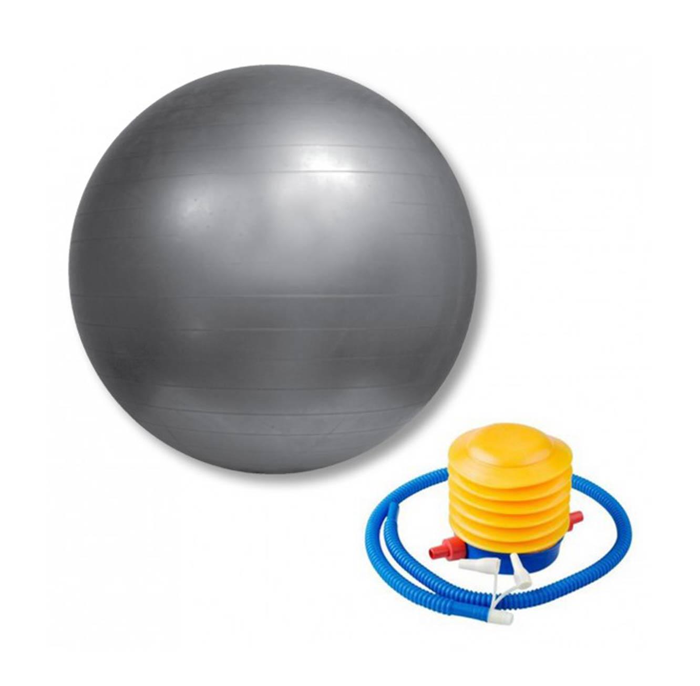 כדור התעמלות מסוג פיזיו 65 ABS - אפור