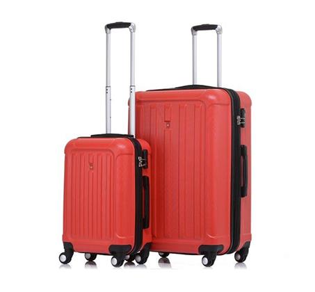 סט 2 מזוודות קשיחות Swiss דגם Alps בגדלים
