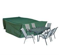 כיסוי לסט שולחן+כסאות גינה מלבני מבית Camptown