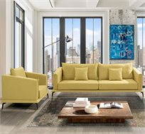 מערכת ישיבה מומה כוללת ספה וכורסא