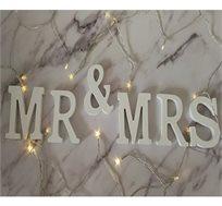 אותיות עץ MR & MRS