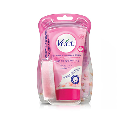 מארז 3 יחידות קרם להסרת שיער בזמן המקלחת In Shower hair removal cream