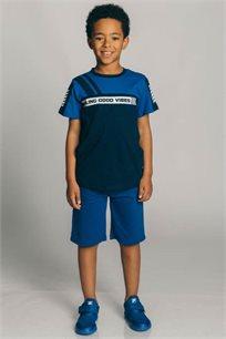 חולצת טריקו קצרה לילדים - צבע לבחירה