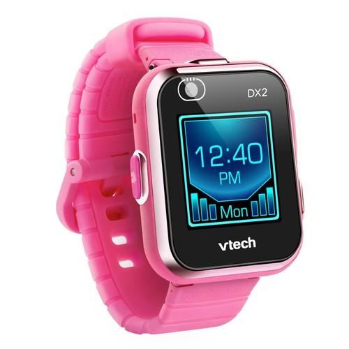 שעון חכם עם מסך מגע ושתי מצלמות קידיזום Kidizoom Dx2 - ורוד