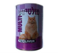 12 שימורי מולטי-קט לחתול כבד במרקם חתיכות