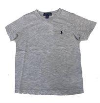 RALPH LAUREN /חולצה(3-8 שנים) - אפור כיס