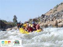 אתגר לאמיצים בלבד! רפטינג סוער במי נהר הירדן ההררי,  במסלול הכי אקסטרים בארץ ב-₪466 לאדם, מגיל 15!