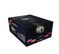 מארז 80 קפסולות קפה תואמות ללוואצה מומנטו מיקס+ מתנה 2 כוסות אספרסו דאבל גלאס FOOD APPEAL