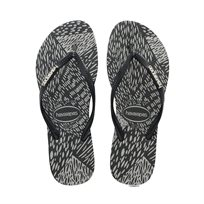 HAVAIANAS נשים// Slim Animals BLACK