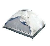 אוהל DOME ל-2 אנשים עשוי אריג כסוף דוחה שמש CAMPTOWN