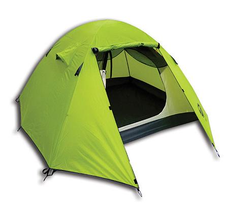 אוהל איגלו ל-3 אנשים עם 2 מרפסות ציוד