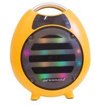 רמקול בלוטות' נייד עם תאורת דיסקו וקריוקי מבית Pure Acoustics