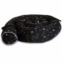 Babymitmit כרית נחשוש- שחור Galaxy Collection