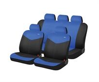 רונדו כחול/שחור כיסוי מושבים