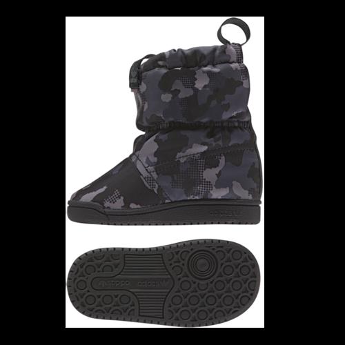 Slip On Boot - Adidas מגף צבאי אפור (35-27)