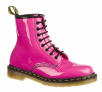 נעלי נשים Dr. Martens - דגם 8 Eye Boot Patent Lamper