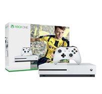 הקונסולה החדשה XBOX ONE S בנפח 500GB כולל המשחק FIFA 2017 +מנוי חינם לשלושה חודשים