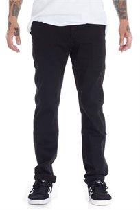 מכנס Chino בגזרת סלים פיט SUPPLY בצבע שחור