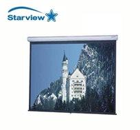 """מסך הקרנה חשמלי 178*178 ס""""מ תוצרת Starview"""