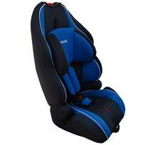 כיסא בטיחות משולב בוסטר עם משענת ראש מתכווננת כחול/שחור