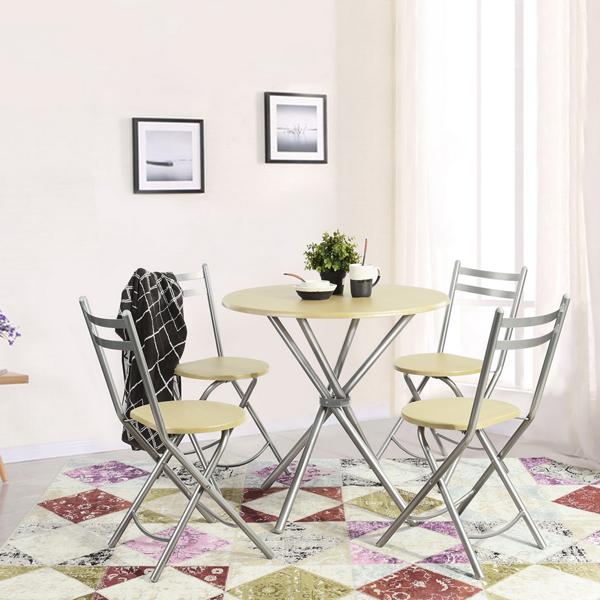 פינת אוכל כולל 4 כיסאות דגם בריטני