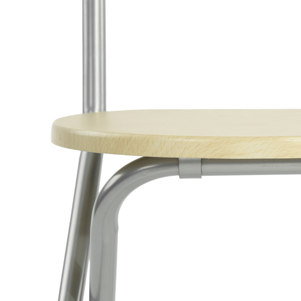 פינת אוכל הכוללת שולחן וארבע כיסאות דגם בריטני - למרפסת, לחצר או לפינת האוכל Homax - תמונה 5