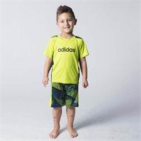 adidas חליפה(3 חודשים- 6 שנים)- ירוק תפוח