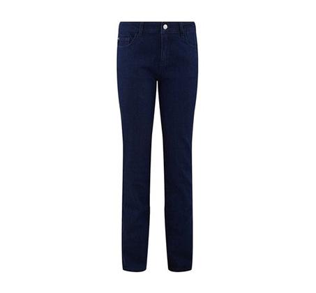 ג'ינס בגזרה ישרה PROMOD לאישה - כחול כהה