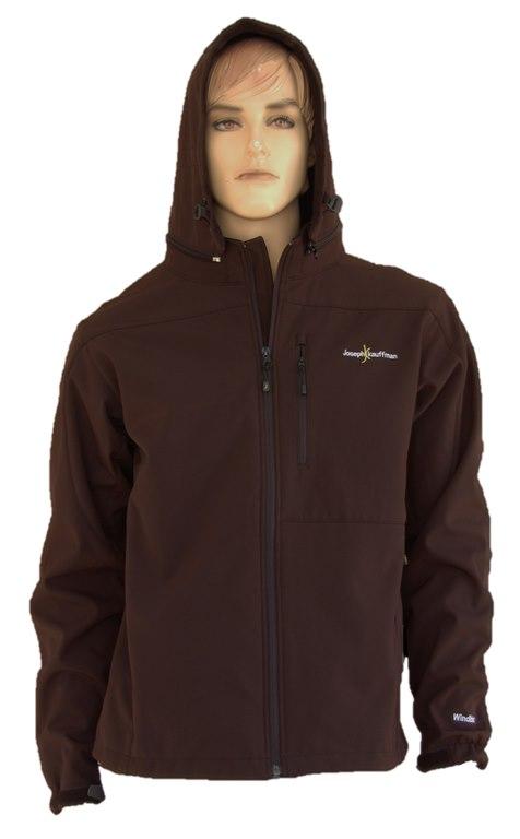 המעיל המושלם לגברים! איכותי ואופנתי, עמיד למים, רוח ושלג עם כובע מתפרק מבית Joseph Kauffman!