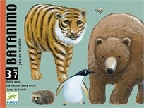 קלפים: מלחמה חיות - Djeco