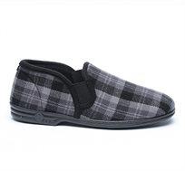 נעלי בית סגורות דפנה לגברים דגם ערן בצבע אפור