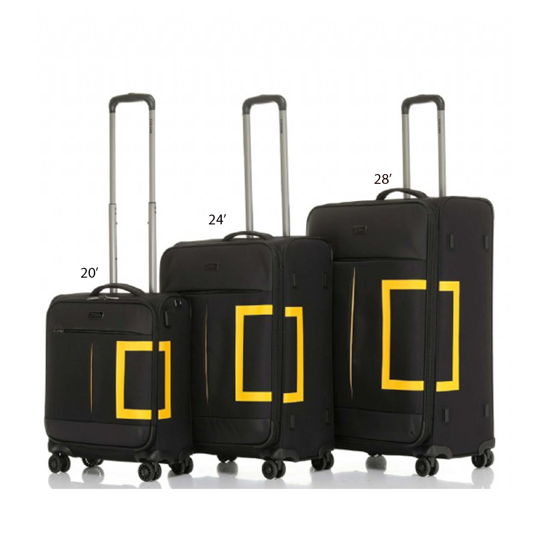 """מזוודה דגם """"TRAVELLER NGO-10 20 צבע לבחירה"""