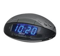 בוקר טוב, רדיו! שעון מעורר רדיו עם גיבוי להפסקות חשמל AKAI מבית HEMILTON